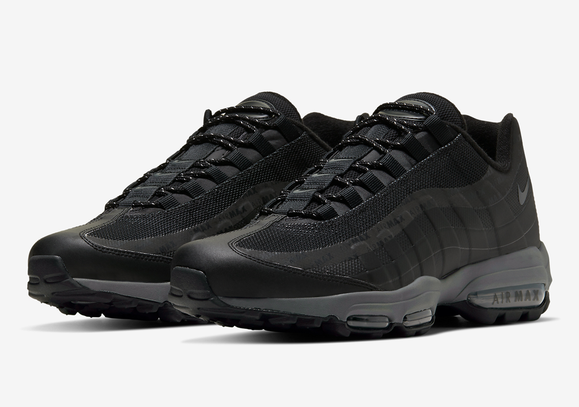 """Nike Air Max 95 Ultra """"Reflective Stripe"""" Pack Visible In Three Colorways"""