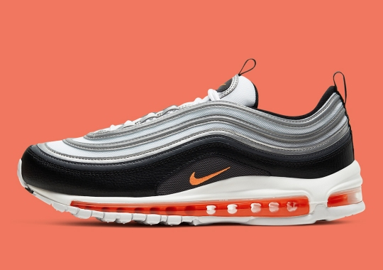 The Nike Air Max 97 Arrives In A Refreshed Black And Orange