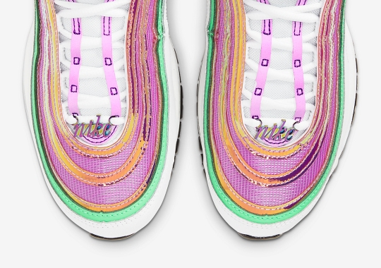 The Nike Air Max 97 Adds A Touch Of Vintage With Script Lace Dubrae