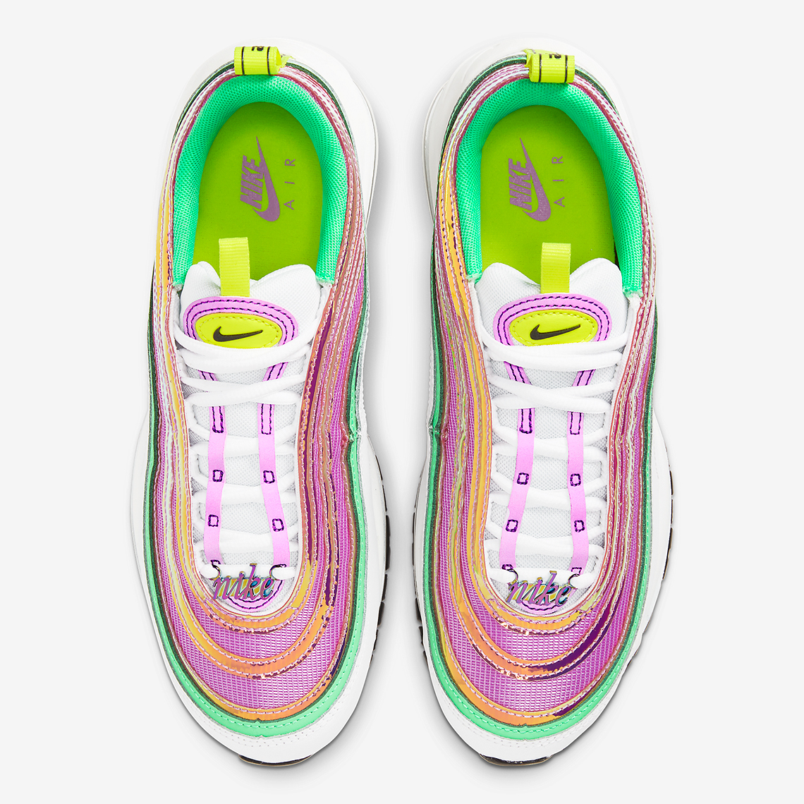 Nike Air Max 97 Pink Green CW5591 100 Release Info