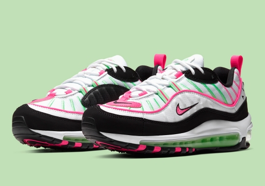 Nike Adds Neon Green And Pink On The Air Max 98