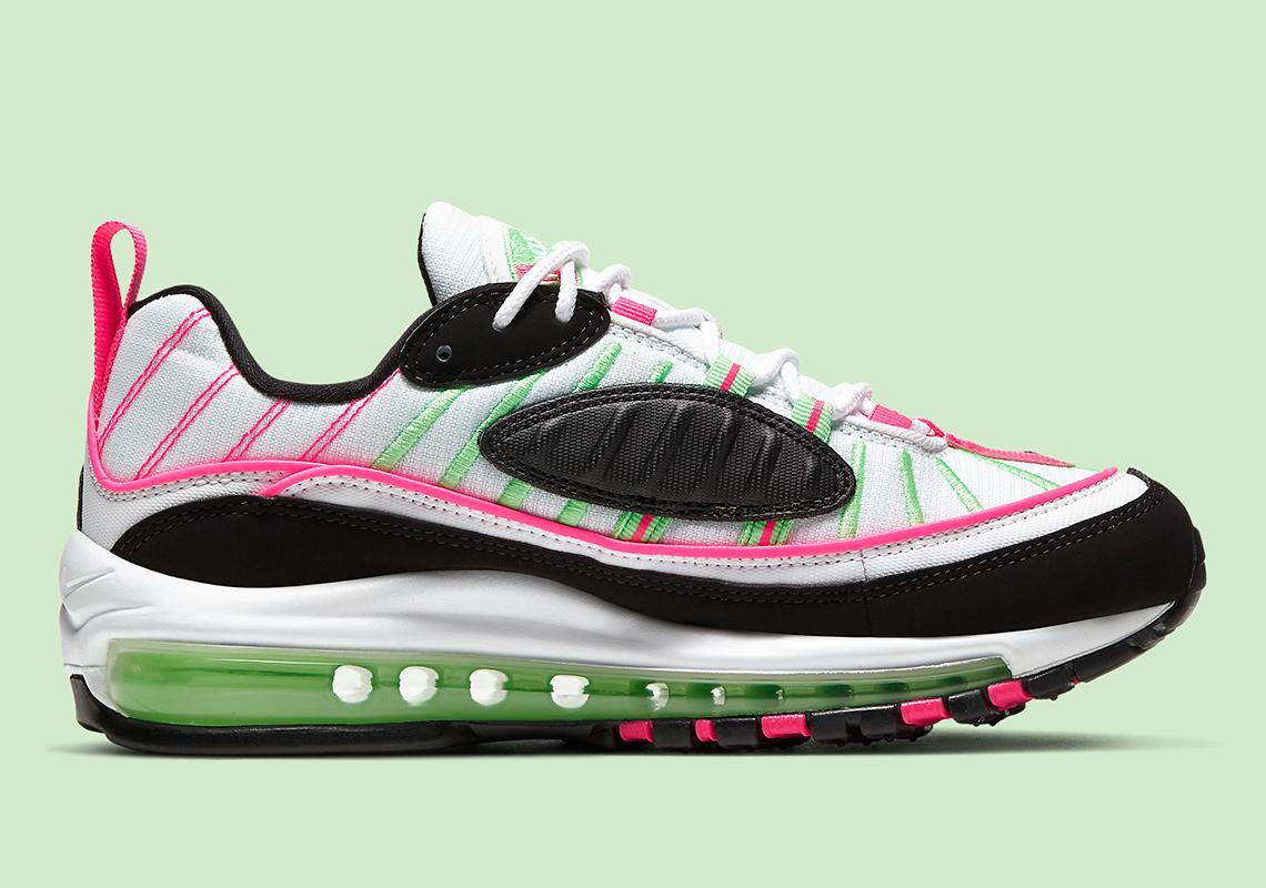 "Nike Air Max 98 ""Watermelon"" Brings The Summer Vibes: Official Photos"