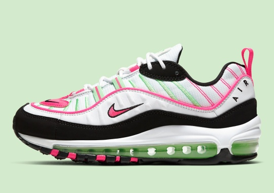 "Nike Springs Into The Warmer Months With The Air Max 98 ""Watermelon"""
