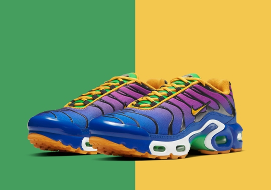 """The Nike Air Max Plus Gets A Tropical """"Multi-Color"""" Upgrade"""