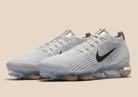 Nike Adds Gum Soles To The Vapormax Flyknit 3
