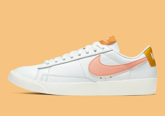 """The Nike Blazer Low Leather """"Pink Quartz"""" Is Made For Women"""