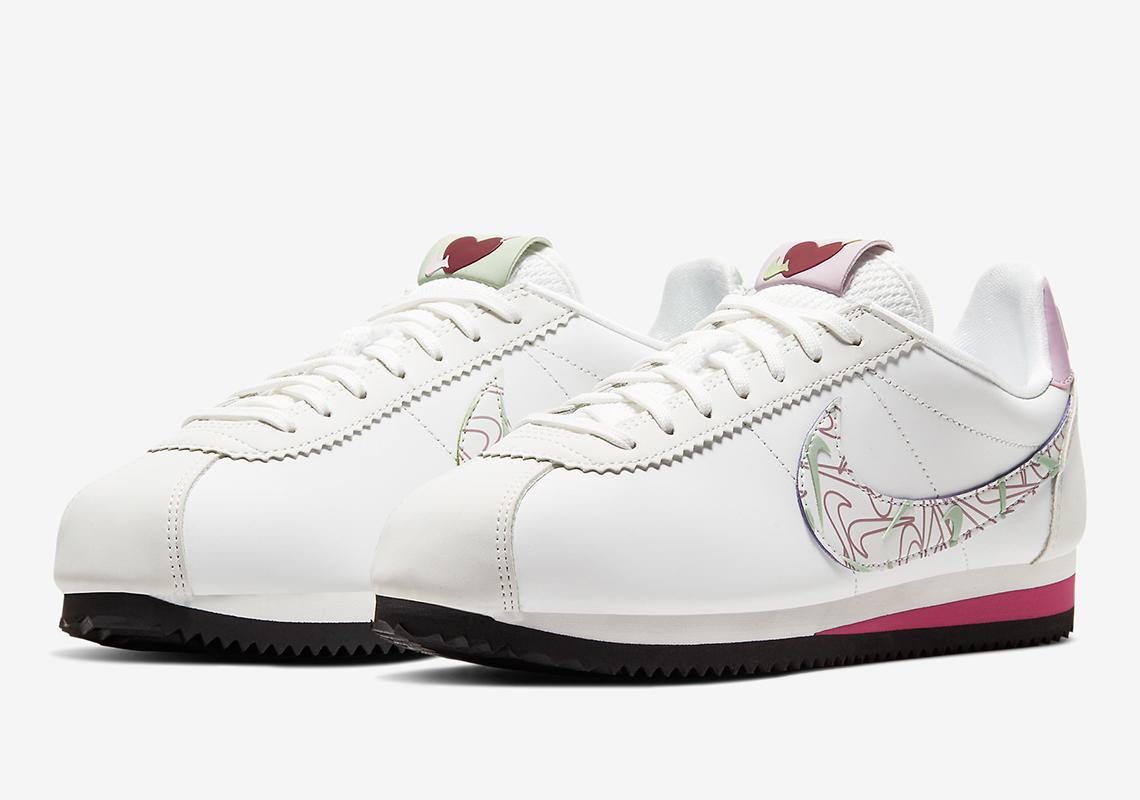 Habitar Mezclado Mandíbula de la muerte  Nike Cortez Valentines Day CI7854-100 Release Date | SneakerNews.com