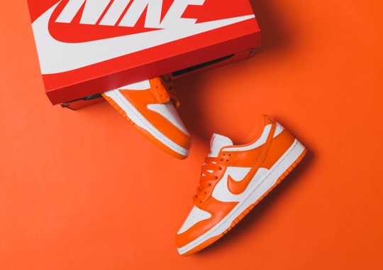 "The Nike Dunk Low SP ""Syracuse"" Is Releasing Tomorrow In Australia"