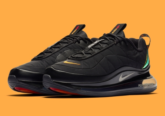 Metallic Gold Heel Accents Arrive On The Nike Air Max 720-818