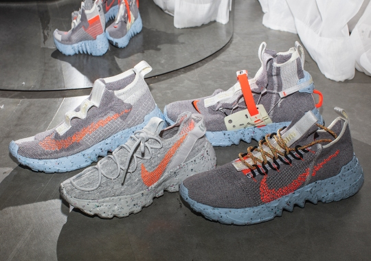 """Nike Turns Scraps Into Shoes With Their Upcoming """"Space Hippie"""" Collection"""