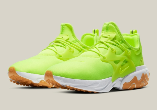 "The Nike React Presto Is Now Available in ""Volt"""