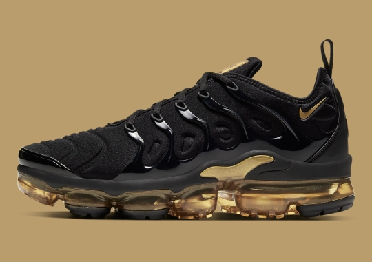 The Nike Vapormax Plus Blessed With Gilded Accents