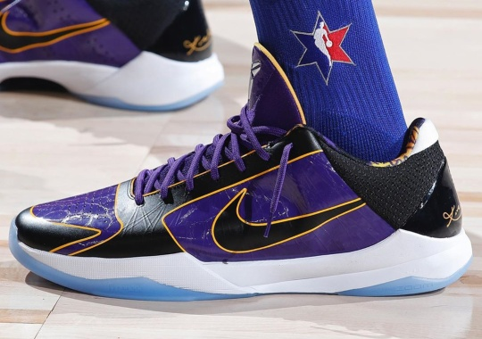 Another Nike Zoom Kobe 5 Protro Appears At All-Star Weekend