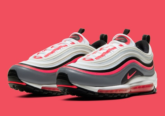 "A Familiar ""Infrared"" Colorway Appears On The Nike Air Max 97"