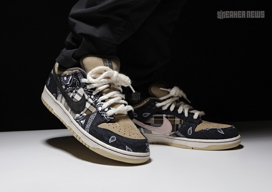 Exclusive Look At The Travis Scott x Nike SB Dunk Low