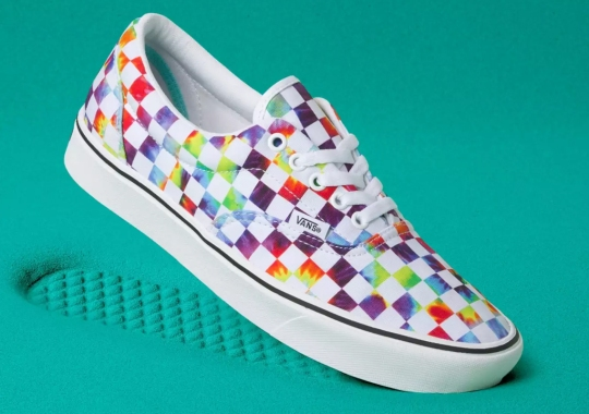 Vans Adds Psychedelic Tie-Dye To Their Iconic Checkerboard Print
