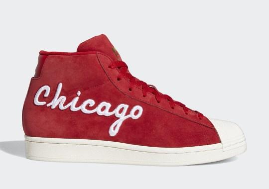 The adidas Pro Model Celebrates Chicago With Varsity Jacket Concept