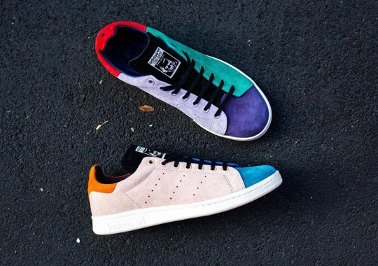 The adidas Stan Smith Recon Uses Colored Suedes For An Early 2000s Look