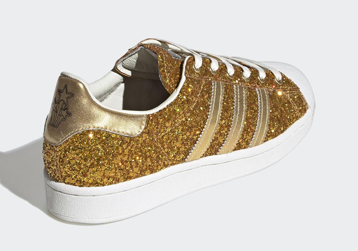 adidas superstars gold