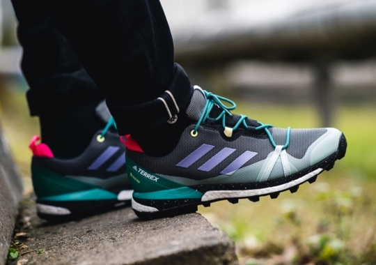 The adidas Terrex Skychaser LT Gets Adorned With Classic Hiking Colors