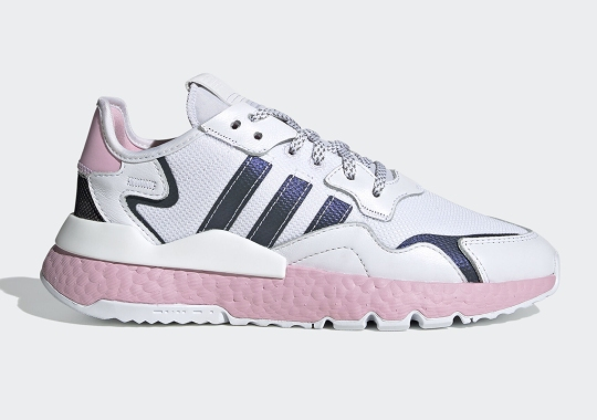 adidas Debuts Pink-Tinted BOOST On The Women's Nite Jogger