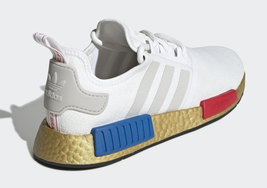 adidas Adds Visual Upgrades To The NMD R1 With Golden Overlay
