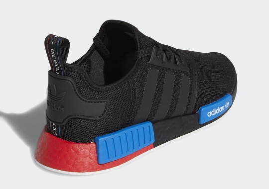 adidas Continues Its Experimental Color-blocking On The NMD R1