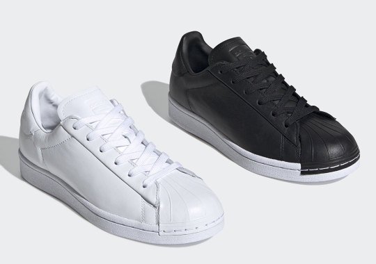 The adidas Superstar Pure Removes The Stripes For A Refined Lifestyle Look