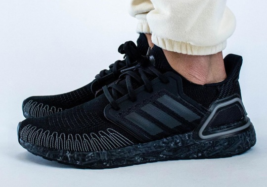 "Detailed Look At The James Bond x adidas Ultra Boost 20 ""No Time To Die"""