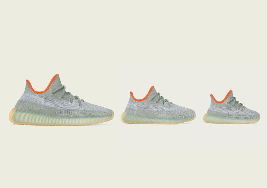 "adidas Yeezy Boost 350 v2 ""Desert Sage"" Releases March 14th"