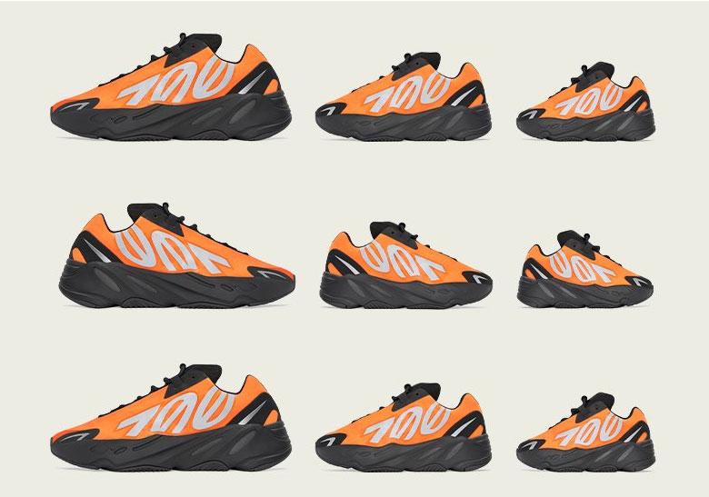 adidas YEEZY 700 MNVN Orange - Release