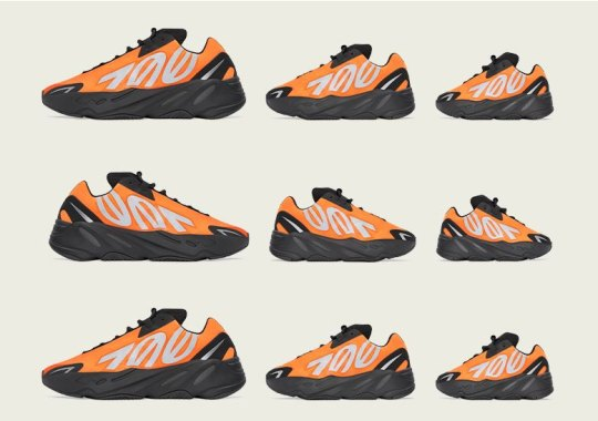 "adidas Yeezy Boost 700 MNVN ""Orange"" Available Exclusively In LA, Paris, and Shanghai"