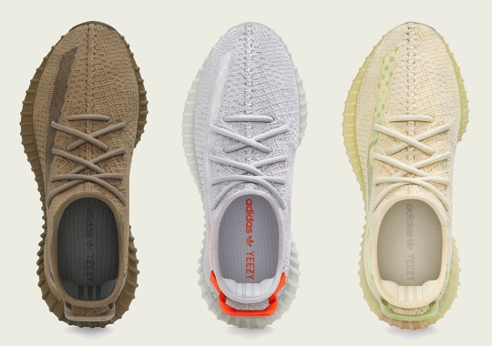 adidas Unveils Next Batch Of Region Exclusive Yeezy 350s