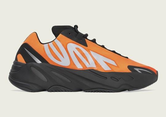 The adidas Yeezy Boost 700 MNVN In Orange Arrives Next Weekend