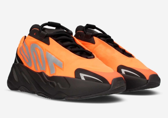 "The adidas Yeezy Boost 700 MNVN ""Orange"" Releases Tomorrow"