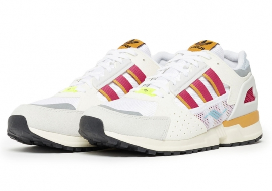The adidas ZX 10.000C Appears In White, Red, And Gold