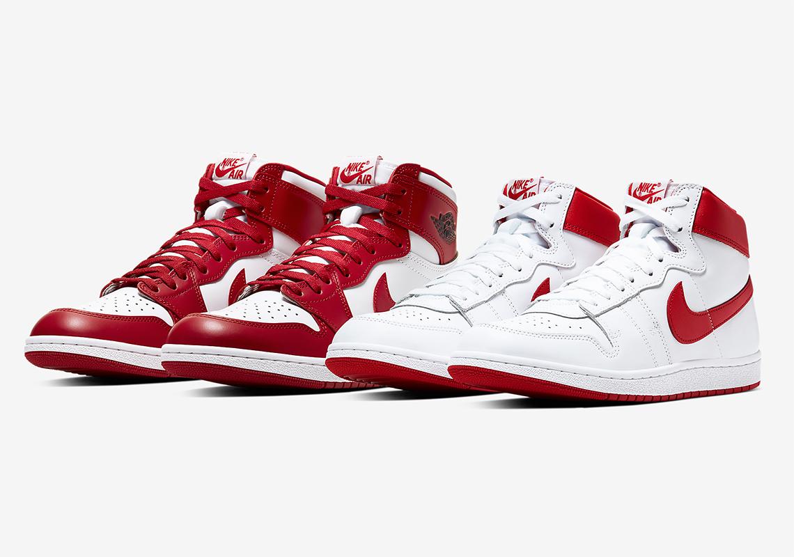 Air Jordan 1 Hi '85 White Red New Beginnings | SneakerNews.com