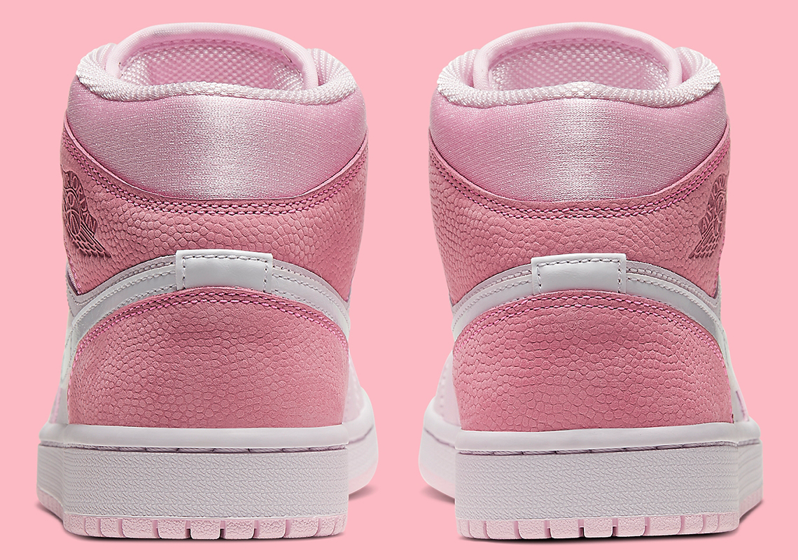 Air Jordan 1 Mid Pink White Cw5379 600 Sneakernews Com