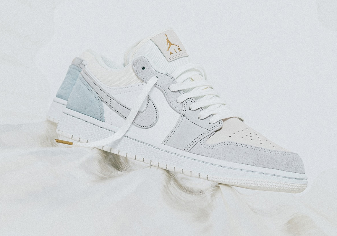 Air Jordan 1 Low Paris Cv3043 100 Store List Sneakernews Com