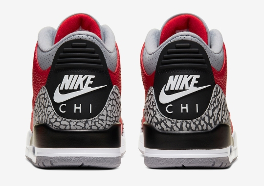 """Official Images Of The Air Jordan 3 Retro SE """"Red Cement"""" For Chicago"""