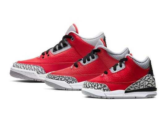 "The Air Jordan 3 Retro SE ""Unite"" Is Arriving In Full Kids Sizes"