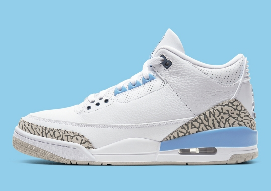 Where To Buy The Air Jordan 3 UNC