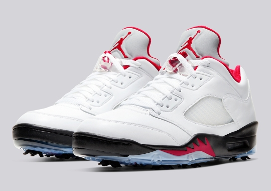 The Air Jordan 5 Gets Transformed Into A Golf Shoe