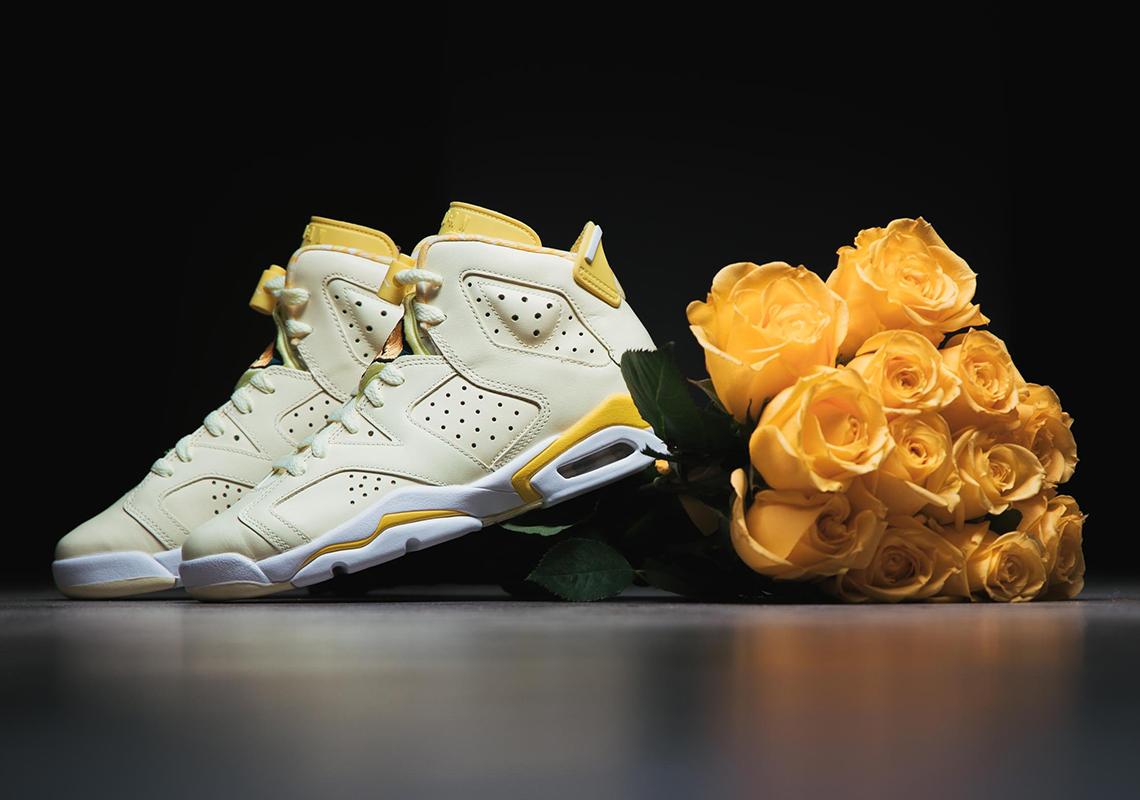 "The Air Jordan 6 ""Citron Tint"" Releases Tomorrow"