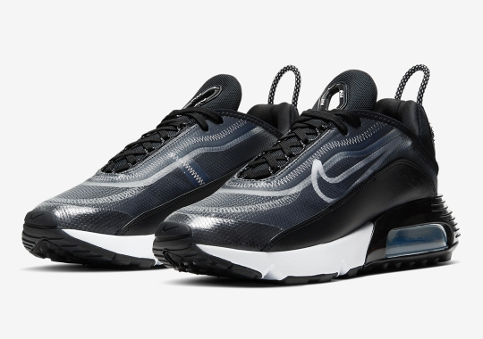 Official Images Of The Nike Air Max 2090 In Black/White