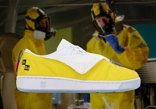 Breaking Bad And K-Swiss Add Walter White's Hazmat Suit To The Classic 2000
