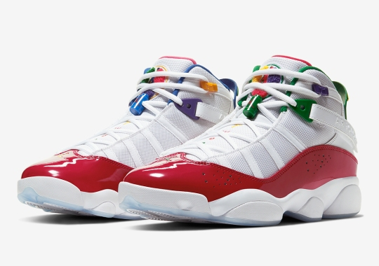 Jordan Adds A Full Range Of Colors Onto The Six Rings