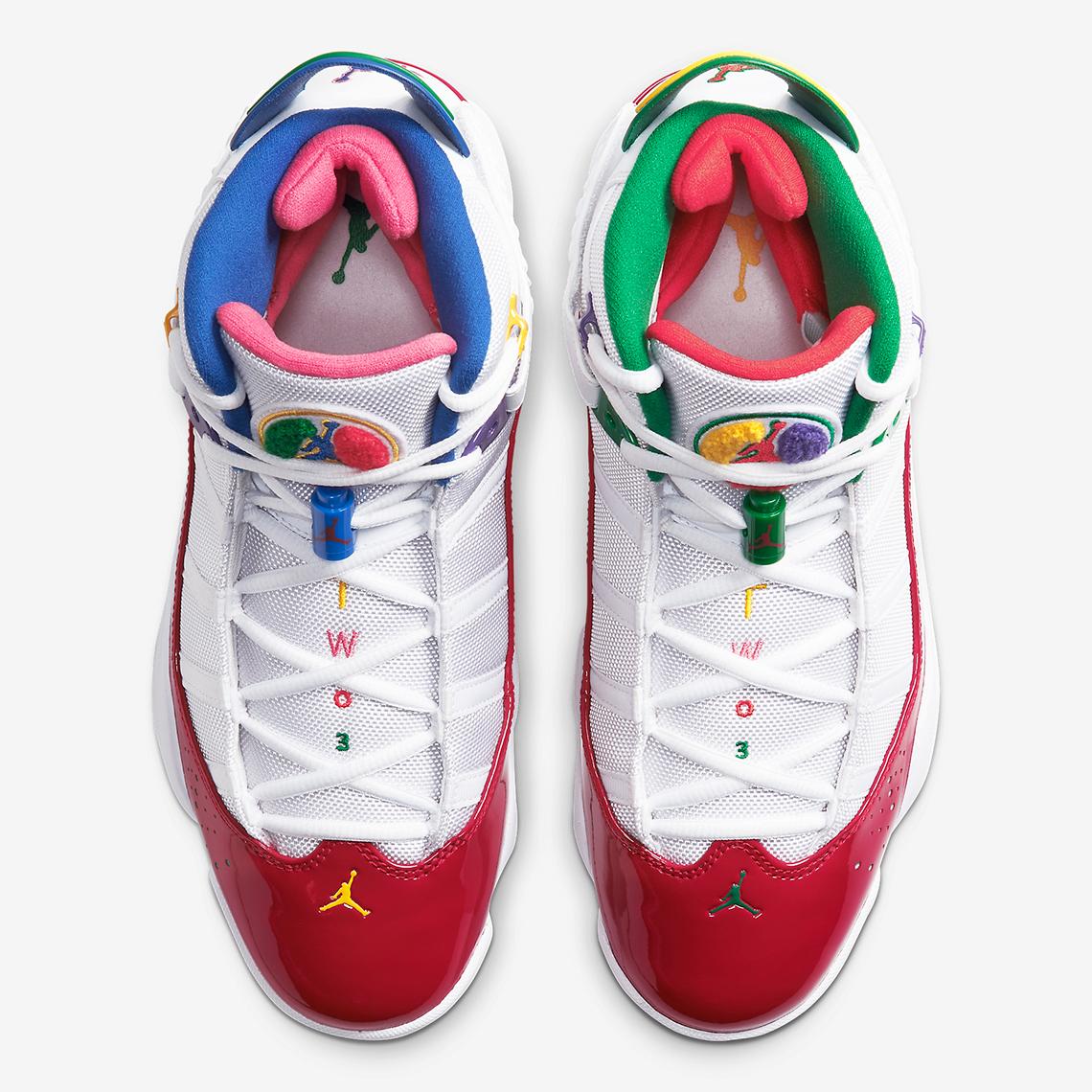 Jordan 6 Rings CW7003-100 Release Info