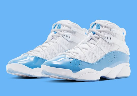 The Jordan 6 Rings Celebrates UNC Ahead Of March Madness