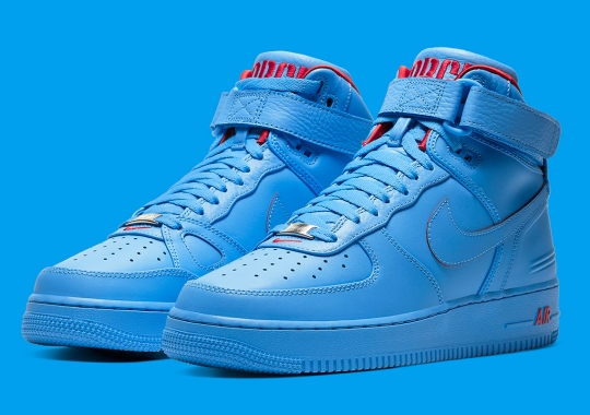 Official Images of the Just Don x Nike Air Force 1 High
